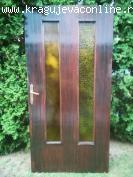 Prodajem drvena ulazna vrata (POVOLJNO)