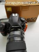Nikon D850 DSLR Camera i Nikon D750 DSLR Camera