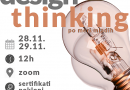 ONLINE OBUKA: Design thinking po meri mladih